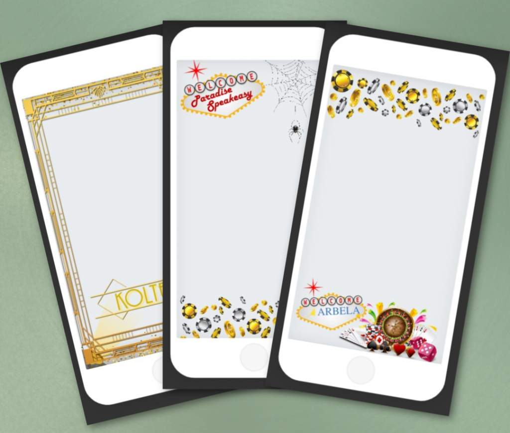 Complimentary custom Snapchat filters for your casino event!