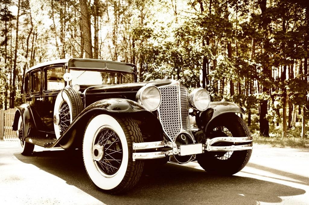 retro 1920's car